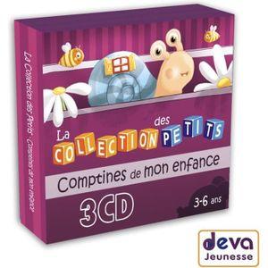 CD COMPTINES - ENFANTS La collection des petits : Comptines de mon enfanc