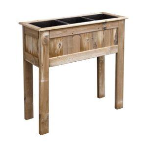 Carr s potager tables de culture achat vente carr s for Carre potager en bois sur pied