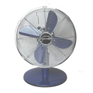 VENTILATEUR DOMAIR Ventilateur de table retro metal - Bleu