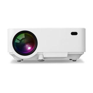 Vidéoprojecteur Exquizon T5 Mini Projecteur Portable Multimédia Vi