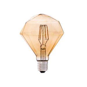 AMPOULE - LED Ampoule LED diamant filament ambrée culot E27 4W=