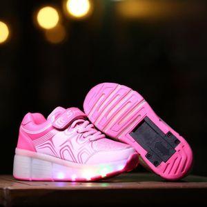 BASKET Nouvel enfant heelys chaussures à roulettes avec r