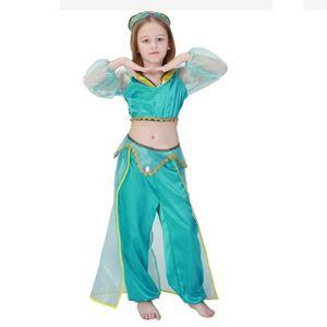 DÉGUISEMENT - PANOPLIE Costume Arabe Robe de Princesse Filles Jasmine Ala