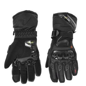 GANTS - SOUS-GANTS Gants Moto Scooter Black Motor Gloves Équipement d