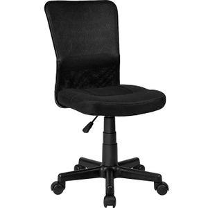 CHAISE DE BUREAU TECTAKE Chaise de Bureau Assise Rembourrée - Haute