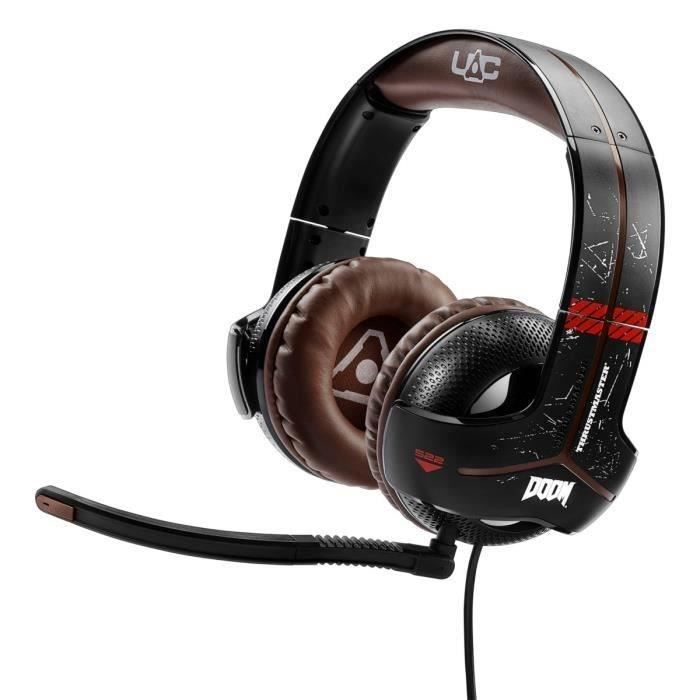 Thrustmaster Micro-Casque Gamer Y-300CPX DOOM EDITION PS4/PC/Xbox One