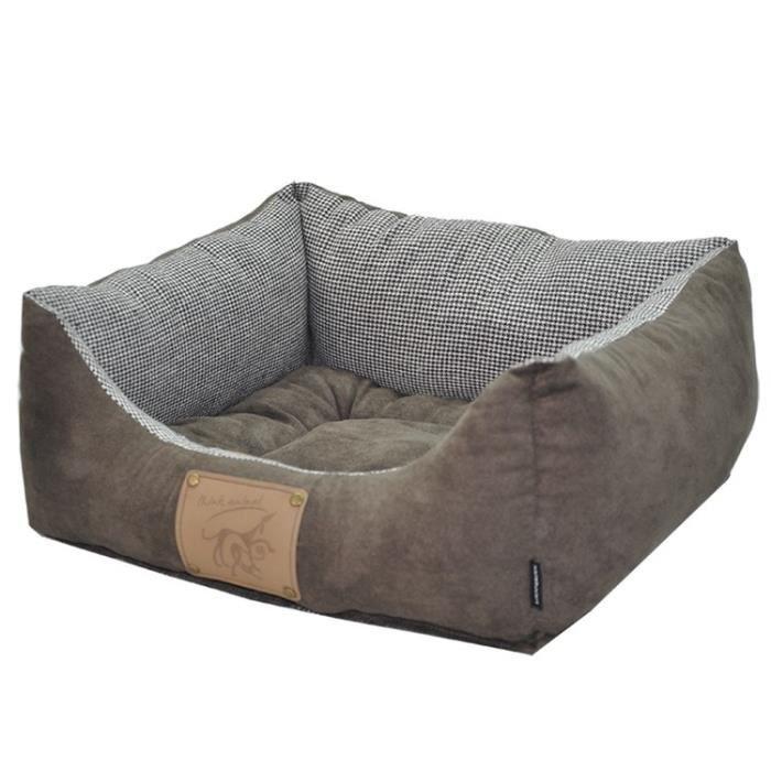 VADIGRAN Panier réversible pour chien Laponie brun/café 45 x 40cm