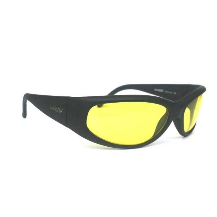 Lunettes vintage ARNETTE CATFISH Black yellow A0397 introuva aille unique  Noir c2681142227e
