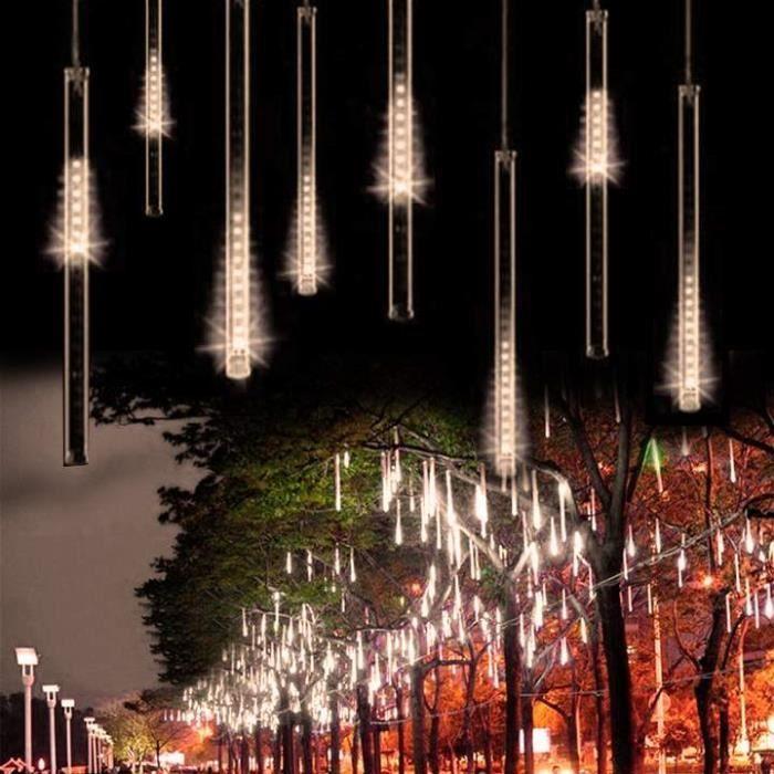 Noël Tubes Lumière Rain Décoration Meteor Led Jardin Shower De Mariage 7gm6fbvIYy