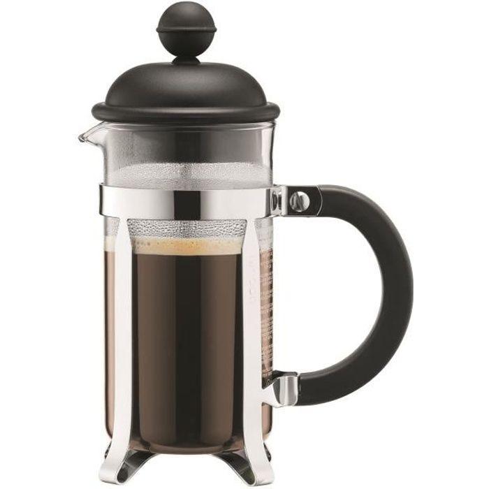 BODUM CAFFETTIERA Cafetière piston 8 tasses/1L noir - Achat ...