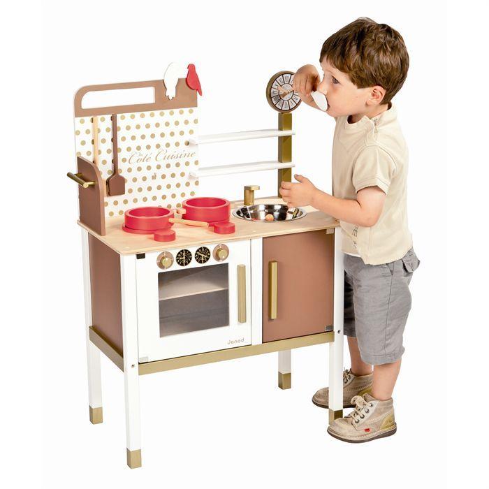 maxi cuisine enfant chic avec accessoires achat vente dinette cuisine cdiscount. Black Bedroom Furniture Sets. Home Design Ideas