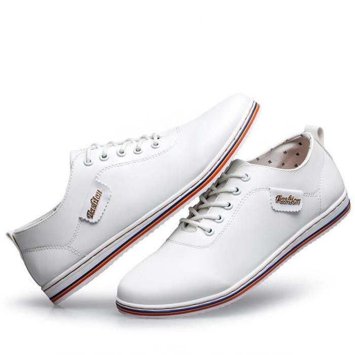Supérieure De Confortable Cuir Chaussures Luxe hommes Qualité 2017 Nouvelle yzx275 arrivee Marque Sneaker ete Moccasins homme qwUCg11O