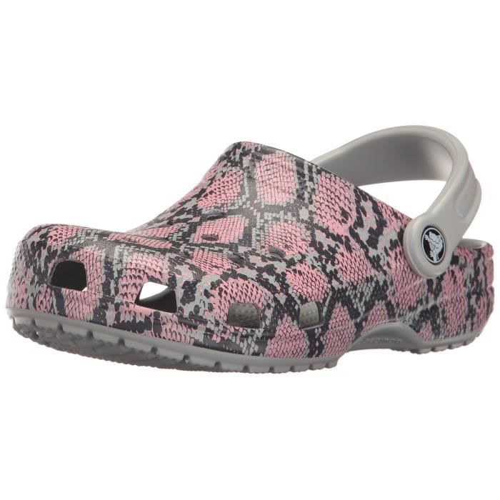Crocs Classic Snake Graphic Clog Mule J191Q Taille-41