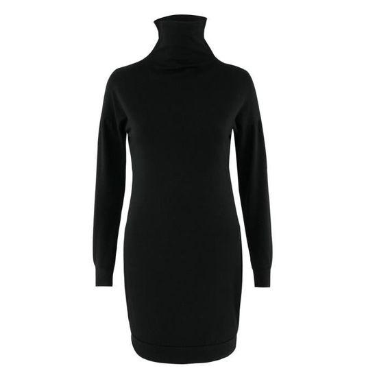 58fd872d030 Moulante Dedasing® Robe Mini Soirée Longues Courte Manches Cocktail Femme  Noir tPaqvF