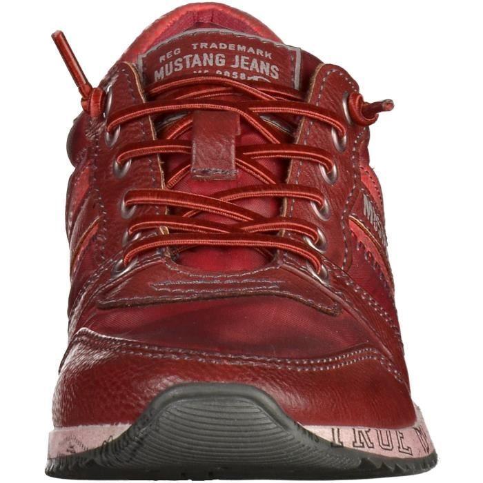 Mustang Sneaker Vine rouge