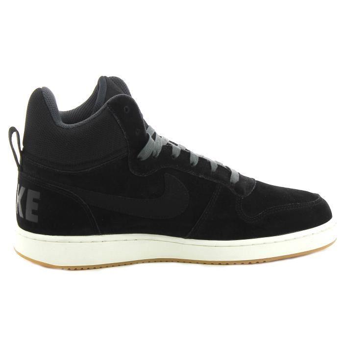 Nike Chaussures Prem De Court Homme Borough Noir Mid Sport QrChsxBotd