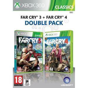 JEU XBOX 360 Far Cry 3 + Far Cry 4 Jeux Xbox 360