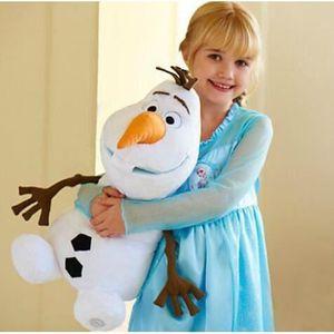 PELUCHE Bébé jouets Olaf peluche jouet poupée bonhommes de