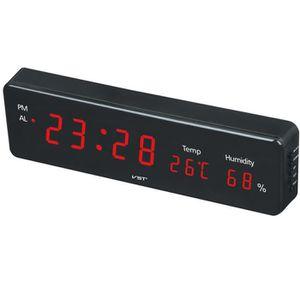HORLOGE - PENDULE Horloge digitale, Reveiller digital led, Horloge l