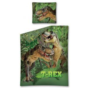 PARURE DE DRAP Parure de lit Dinosaure T-Rex Jungle