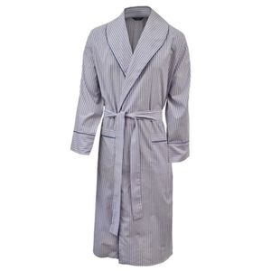 22ce691caca3c ROBE DE CHAMBRE Robe de chambre légère 100% - rayé bleu - rouge -