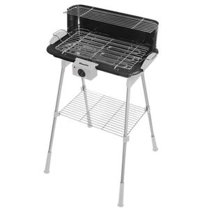 BARBECUE DE TABLE SIMEO 500973452 QB165  Barbecue électrique - Gris/