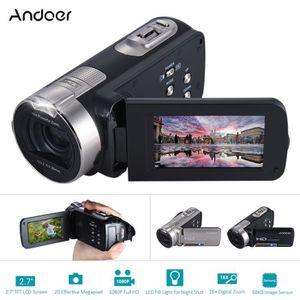 CAMÉRA SPORT Andoer HDV-312P Caméra Vidéo Numérique 1080P Full