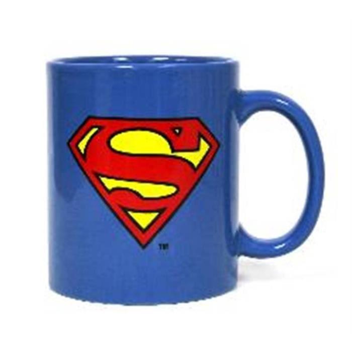 WTT DC UNIVERSE SUPERMAN - Mug Ceramique - Logo Classique Bleu