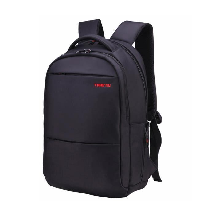Nylon imperméable 15 pouces pour ordinateur portable Sac à dos pour ordinateur portable Hommes Femmes Sac BK s3003