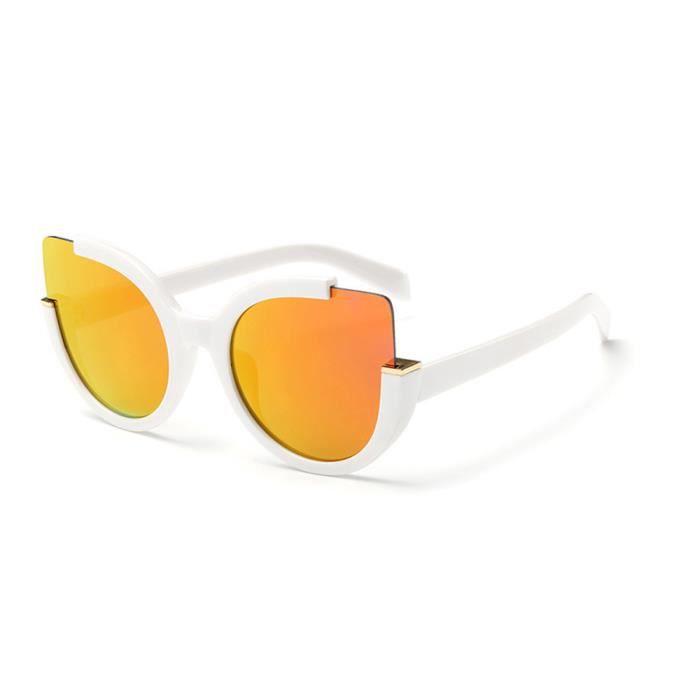 LJL70427138A@Femmes Hommes Vintage Retro Lunettes Unisexe Mode Aviator Mirror Lens Lunettes de soleil
