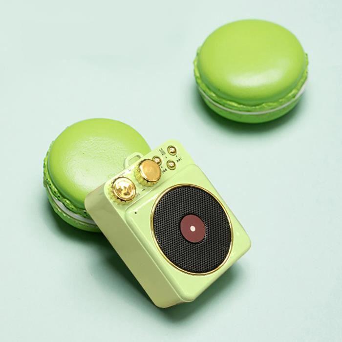 Rétro Mini Portable Sans Fil Bluetooth Haut-parleurs Tf De Soutien Carte Fm Radio Starhope629