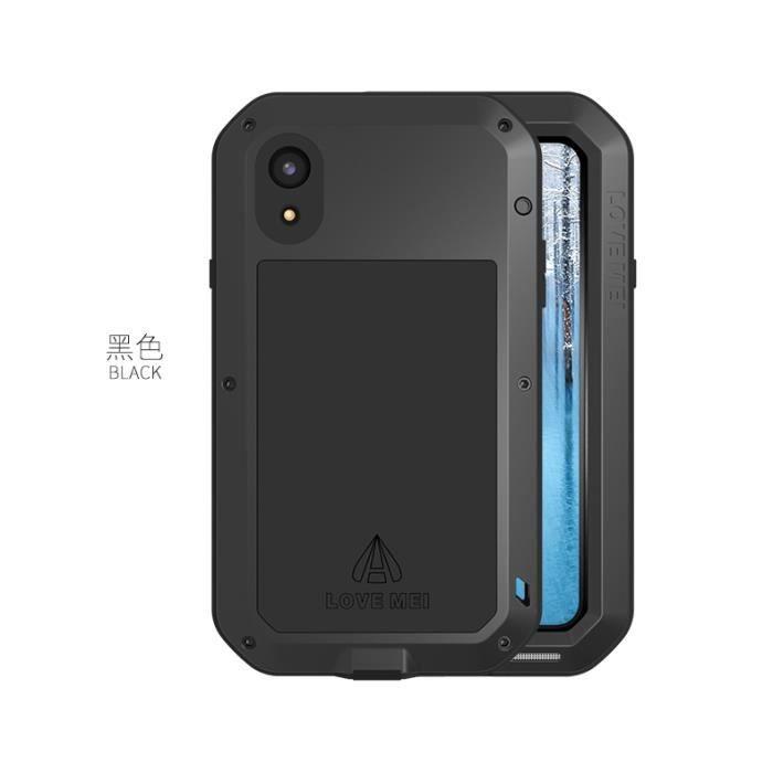 coque antichoc noir iphone xr