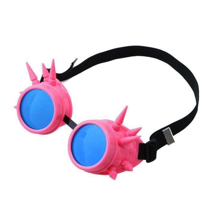 Napoulen®Vintage victorienne steampunk lunettes de soudage cyber punk gothique cosplay XXP71231423