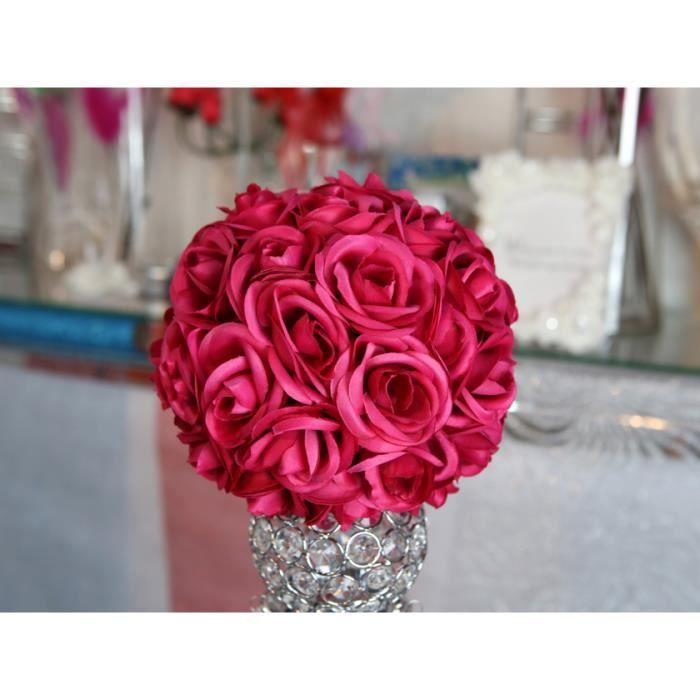 Boule De Fleur Decoration Table Achat Vente Pas Cher