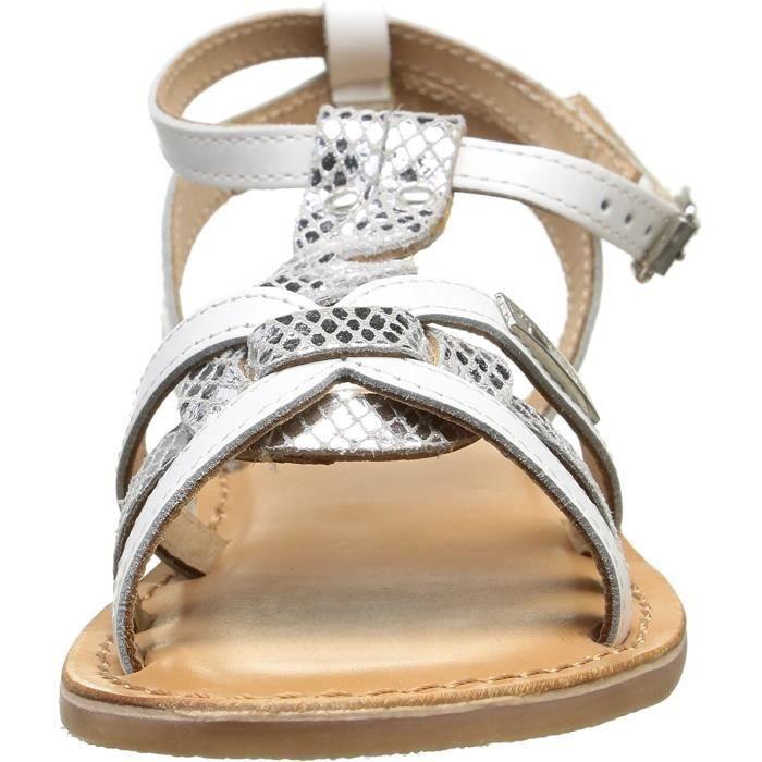 Sandales Badiane blanches