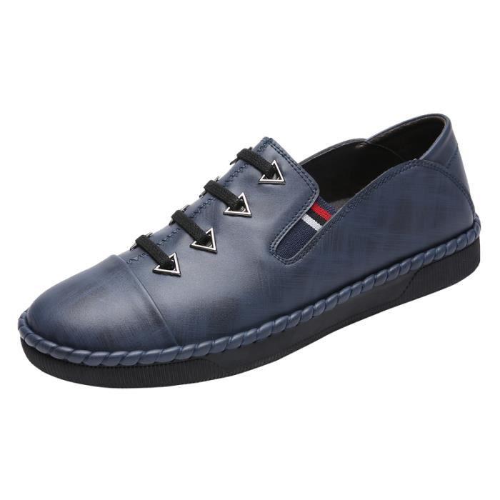 Bleu De Roux Noir Pour Nouveauté Populaires Loisir Chaussures Homme bf7Yg6y