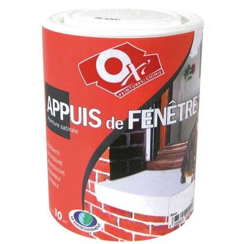 PEINTURE   VERNIS Peinture Appuis De Fenêtre   1 L   Pierre