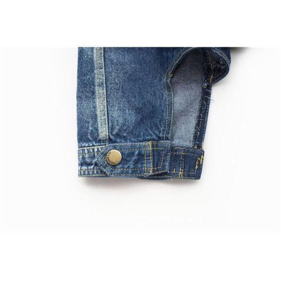 Veste Et En Boutons Chien Pression Pour Chat Avec Jeans lcJFK1T