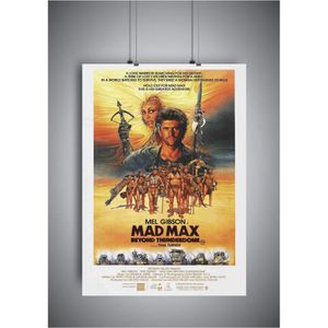 AFFICHE - POSTER Poster Mad Max affiche cinéma wall art - A4 (21x29