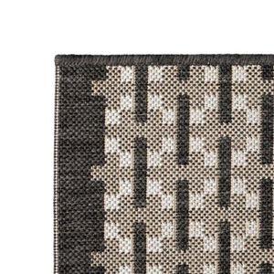 TAPIS Petits tapis  Tapis d'exterieur Aspect sisal 140 x