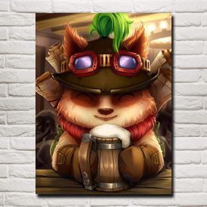 AFFICHE - POSTER Teemo League of Legends lol Game art poster imprim