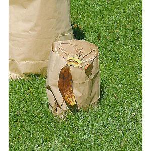 POUBELLE - CORBEILLE Sacs pour déchets biodégradables - en papier, pour