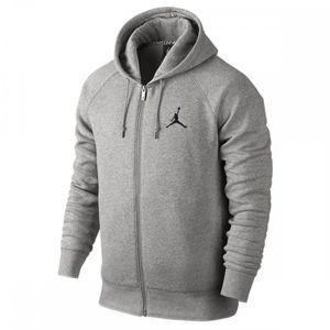 0c0057fd51d sweat nike jordan jumpman brushed full zip sweat a capuche entierement  zippe jordan sportswear flight tech fleece pour