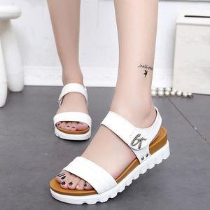Plates Sandales Chaussures Âgées Mode D'été Dames De Confortables Femmes wOk0nP