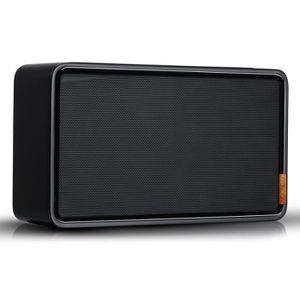 ENCEINTE NOMADE Enceinte Bluetooth NOONDAY M - 10W bois laqué Noir