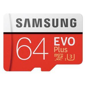 CARTE MÉMOIRE Carte Memoire Samsung EVO plus micro SDHC USH-1 U3
