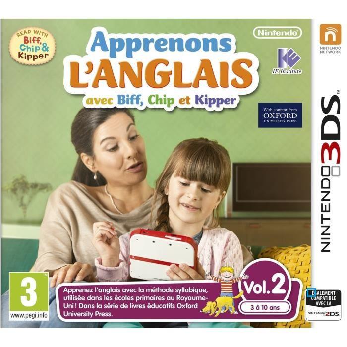Apprenons L'ANGLAIS avec Biff Vol.2 Jeu 3DS