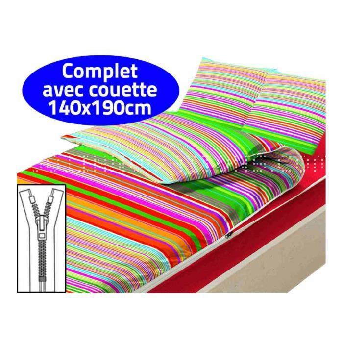 Caradou couchage avec couette 2 pers vibration achat for Couette deux personnes