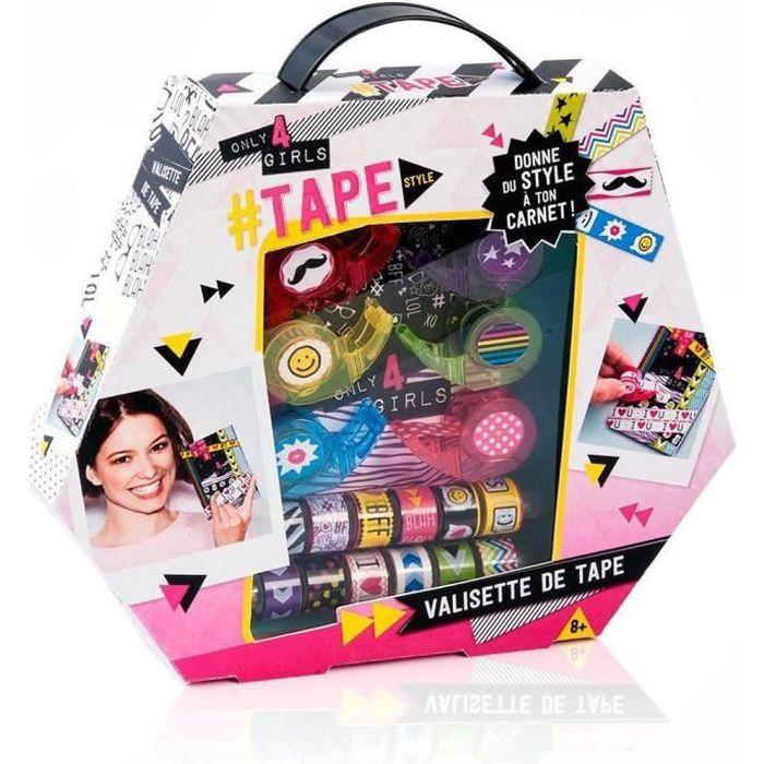 CRÉATION DE BIJOUX CANAL TOYS - ONLY FOR GIRLS Valisette de Tape