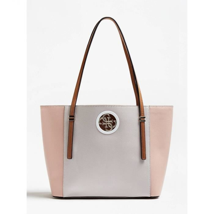 875601bda Guess - Sac cabas femme Open Road (hwvg71 86230) stone multi taille 27 cm